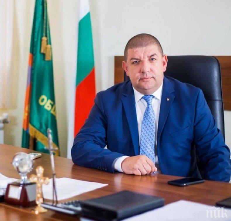 Кметът на Кричим с призив към съгражданите след бума на COVID-19 в шивашка фабрика