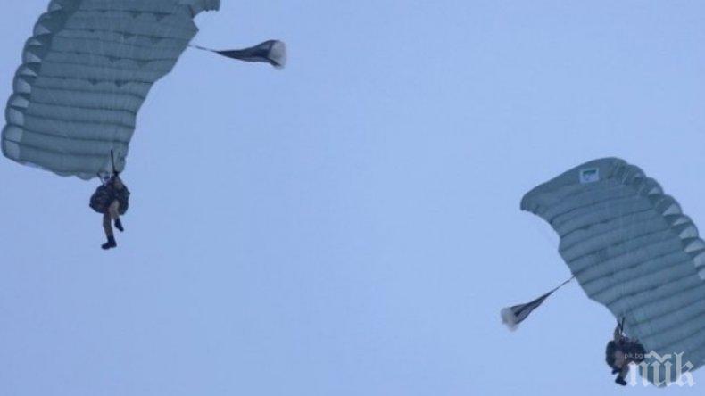 """Командоси правят десант над авиобаза """"Чешнегирово"""""""