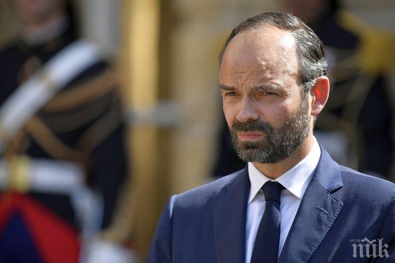 ИЗВЪНРЕДНО: Правителството на Франция хвърли оставка (ОБНОВЕНА)