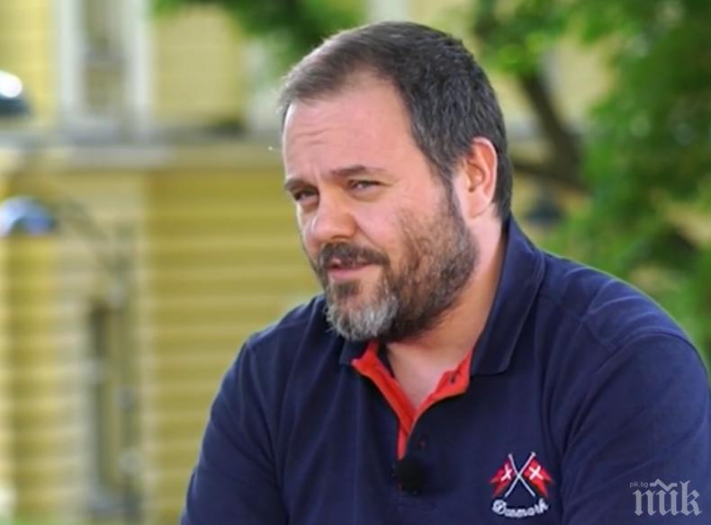 Актьорът Китодар Тодоров: Има страшно много глупост в света
