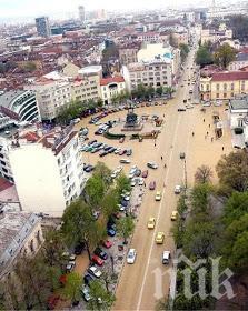 """Столичният бул. """"Цар Освободител"""" - без автомобили от петък до неделя през лятото"""