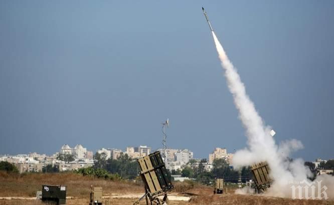 Палестинци гърмят срещу Израел с ракети