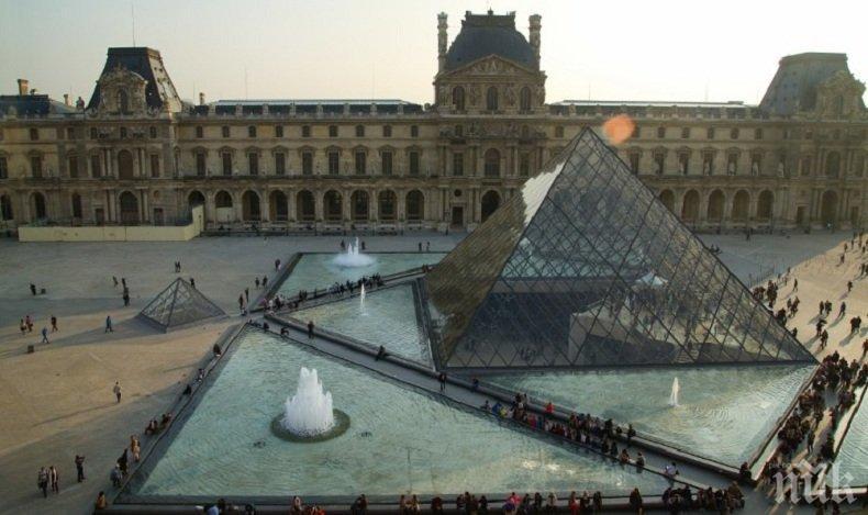 Лувърът отваря врати за посетители, но... с коронавирусни ограничения