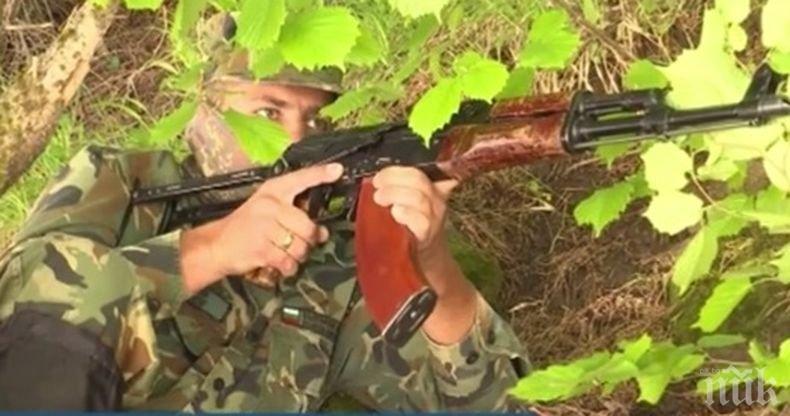Голям интерес към военната служба в 101-ви алпийски полк в Смолян