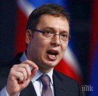 Александър Вучич се зарече: Няма да подпиша закон за еднополовите бракове