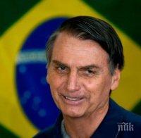 Президентът на Бразилия заяви, че е заразен с коронавируса