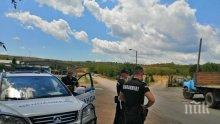 Акция в Хисаря: Униформени спипаха наркотици и оръжия, има арестувани