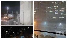 След потопа в столицата: Над 140 сигнала за щети, причинени от силната буря в София бяха подадени в пожарната