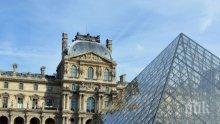 Лувърът отвори врати след три месеца прекъсване