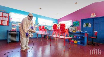 коронавирусът плъзна детска градина варна