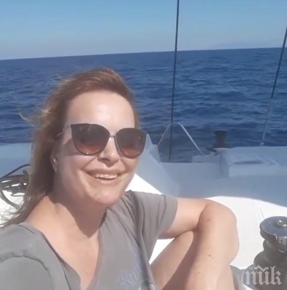 Мариана Векилска избяга от София