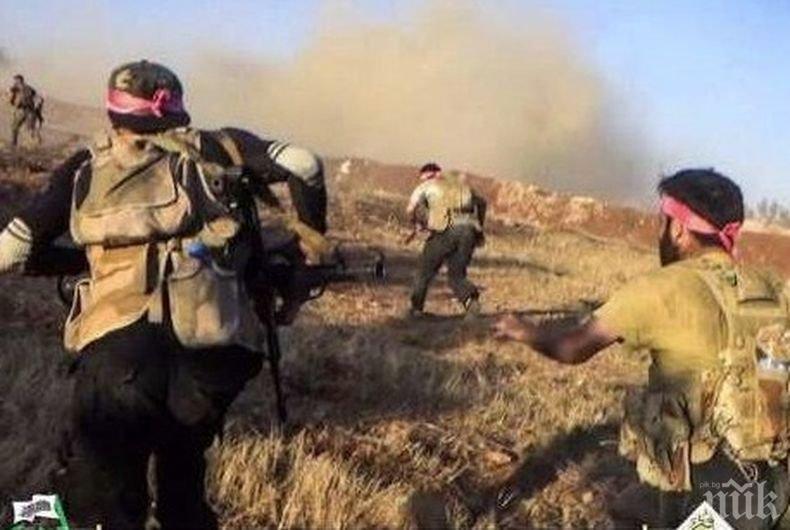 Терористи са подложили на обстрел няколко населени пункта в Сирия