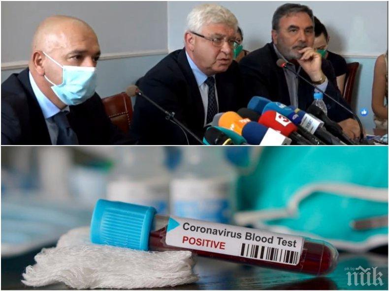 АНТИРЕКОРДЪТ: Близо 500 са с коронавирус в болниците - толкова са и заразените медици у нас! 84 са новите случаи в София и областта, 21 в Пловдив