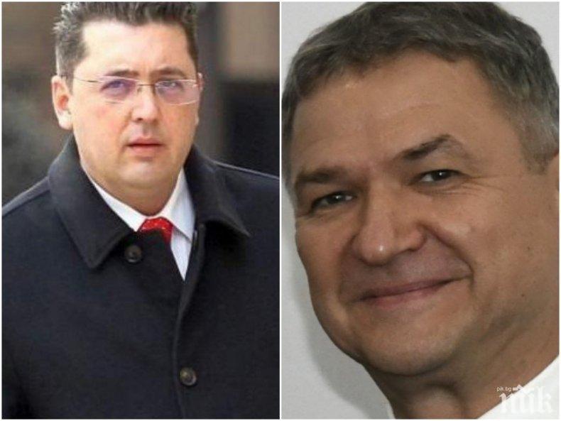 ОФИЦИАЛНО ОТ ПРОКУРАТУРАТА: Бобоков и Узунов задържани за 24 часа