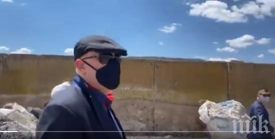 ПЪРВО В ПИК: Гешев показа ужаса на сметището в Червен бряг: Бели бизнесмени тровят децата на България (ВИДЕО)