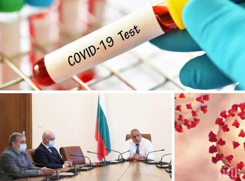 ПЪРВО В ПИК! Рекордни 240  нови случая с коронавирус у нас! Починалите за денонощието са петима