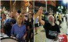 ГОРЕЩО В ПИК! Мая и Йоло бият тъпана на протеста (СНИМКИ)