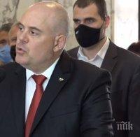 ПЪРВО В ПИК TV: Гешев със специално изявление в Съдебната палата: Президентът ни оказва безпрецедентен политико-партизански натиск. Той се съюзява с тъмнината, с политиците, ограбили нашия народ (ВИДЕО/ОБНОВЕНА)