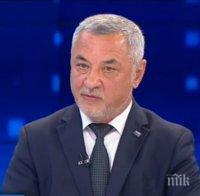 Валери Симеонов с горещ коментар за акцията в президентството: Радев слезе на нивото на Нинова