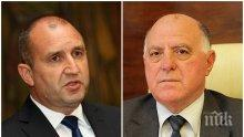 Представляващият ВСС покани президента на спешна среща заради ескалиралото обществено напрежение и натиска върху съдебната власт