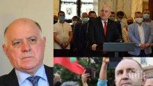 Представляващият ВСС Боян Магдалинчев: Няма основание за освобождаване на главния прокурор Иван Гешев