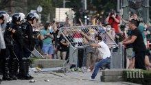 Общо 118 полицаи са ранени за два дни протести в Сърбия