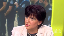 Караянчева: Радев трябва да поеме отговорност за това, което се случи снощи