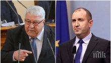 САМО В ПИК! Депутатът Спас Гърневски с тежки думи към Радев: Стига отрова, фатмако!