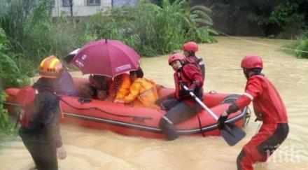 големи наводнения китай