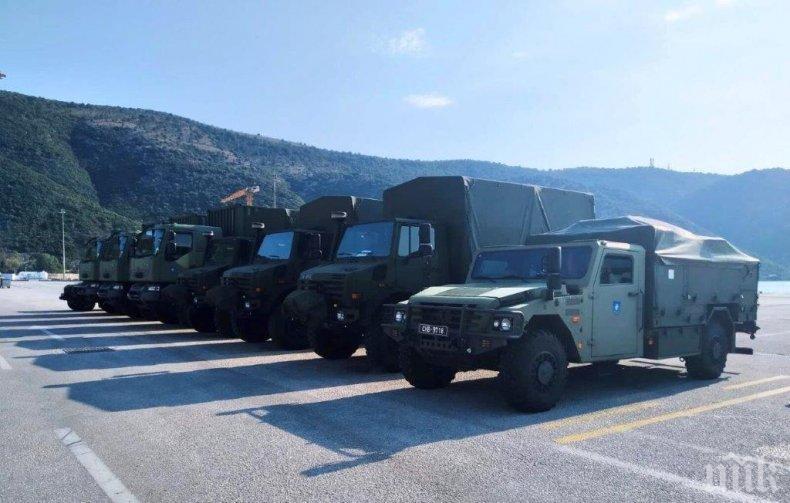 Наши военни участват в учение на НАТО
