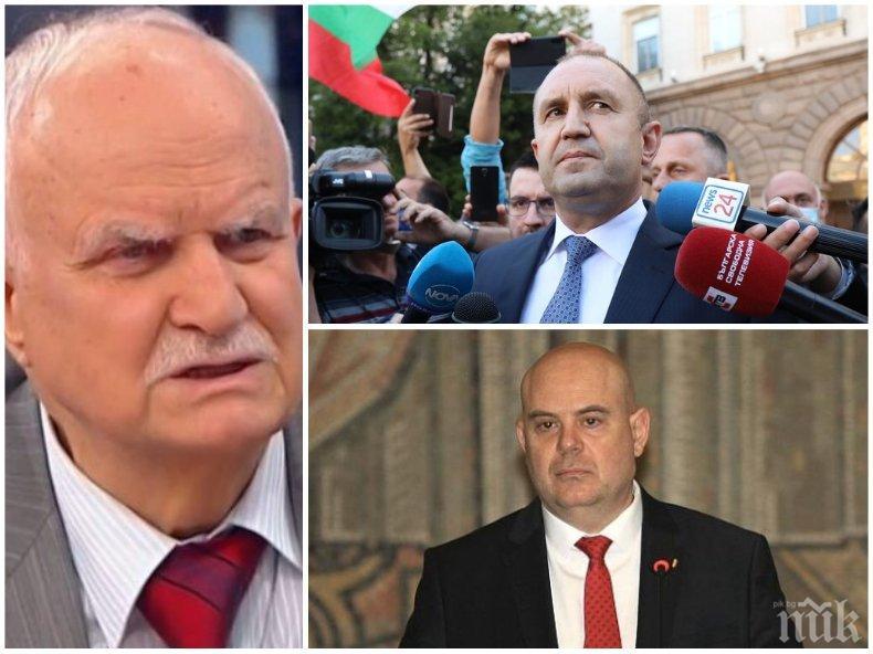 Проф. Никола Филчев: Такова чудо не е било! Президентът Радев се държи скандално, той разочарова и отблъсна дори привържениците си