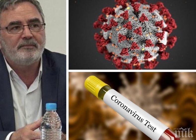 Доц. Ангел Кунчев с аларма: Притеснява ме броят на приетите в болница - за тях борбата с коронавируса е на живот и смърт!