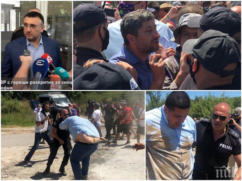 ПИК TV: Вътрешният министър Младен Маринов за бияча на полицаи от ДеБъ: Освободихме арестуваните в Росенец по разпореждане на премиера Борисов, ще искам оставката на шефа на МВР в Бургас (ВИДЕО)