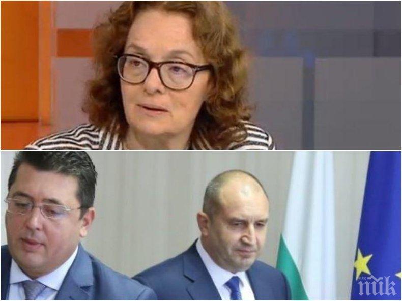 Политологът проф. Румяна Коларова: Има определен кръг от бизнесмени, които жадуват за предсрочни избори