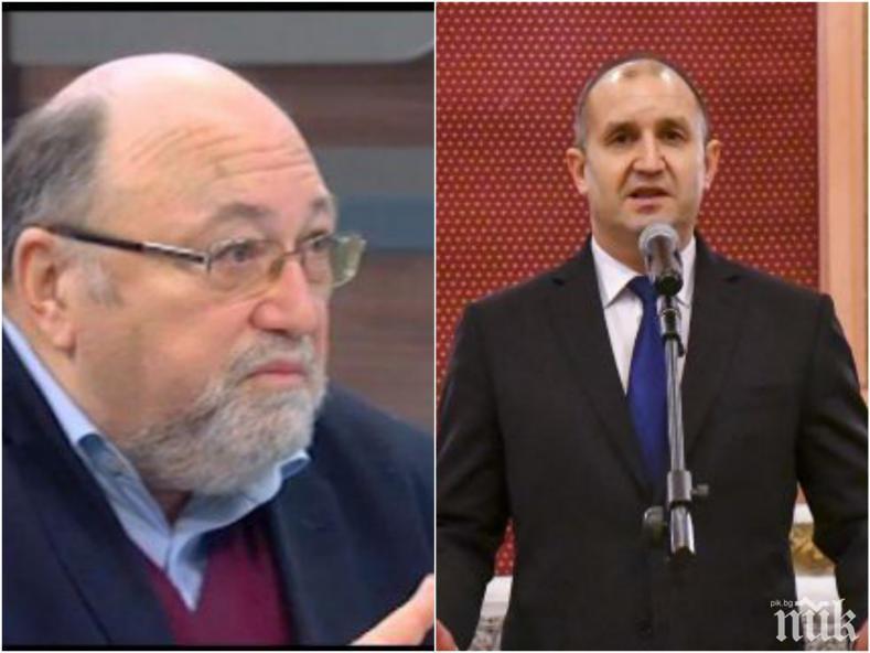 Александър Йорданов с мощен призив: Осъзнайте се! Само тъпанари могат да тласкат към служебен кабинет на Радев и правителство на БСП и ДПС