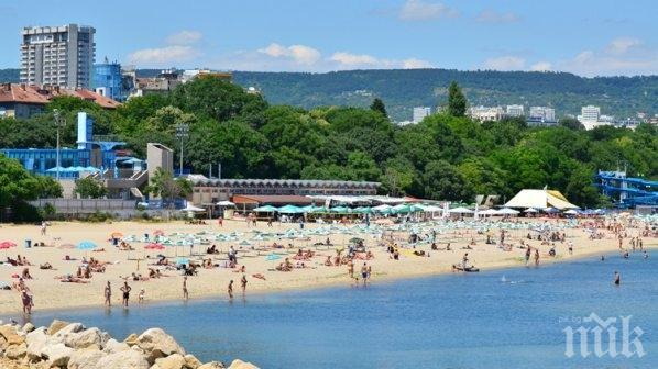 Експерти: Морската вода във Варна е чиста