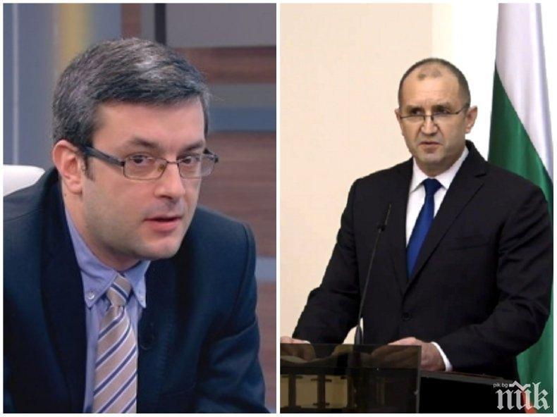 Тома Биков изобличи погромаджията Радев: Иска да предизвика политическа криза