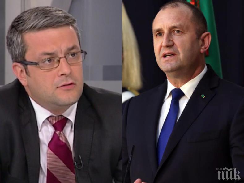 Тома Биков: Радев и Трифонов ще носят отговорност, ако не създадем правителство
