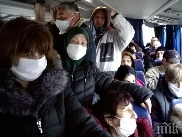 Спипаха деветима без маски при проверка на 137 автобуса в Пловдив
