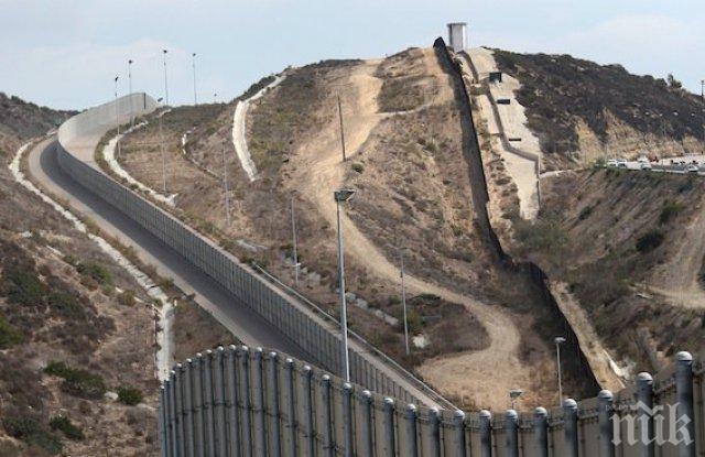 Стената между Мексико и САЩ вече стигна 400 км