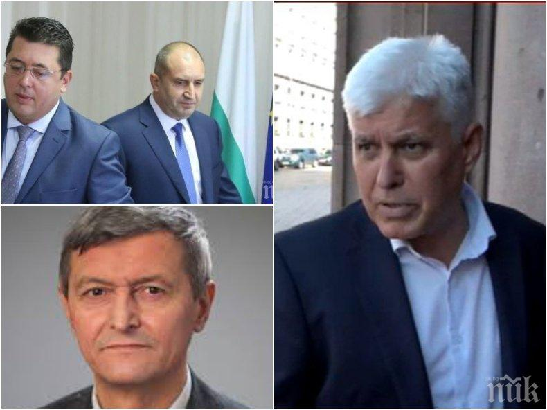 Секретарят на Радев Димитър Стоянов се ожали пред ПИК и се позова на Прокопиев: Още не съм уволнен! Прокуратурата само обвинява, съдът решава и много дела се губят - като това за ЕВН (ВИДЕО)