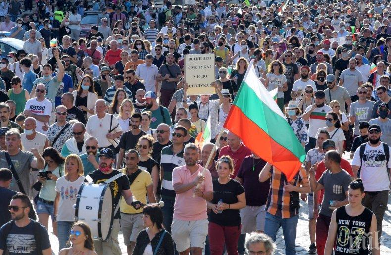 Посолството на САЩ прогнозира докога ще продължат протестите в София