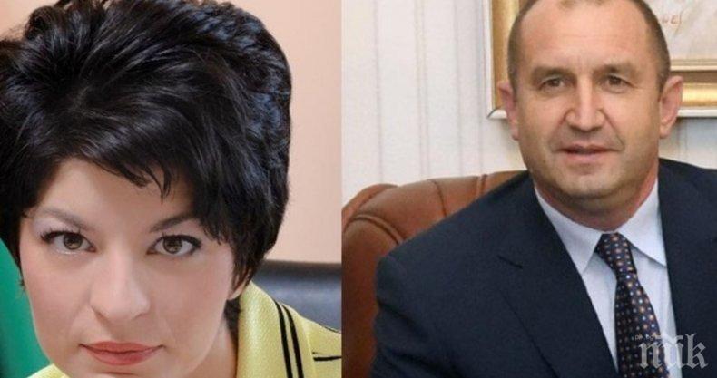 Десислава Атанасова: Радев се изявява като политически лидер! Няма държава, в която президентът да зове към организиран бунт
