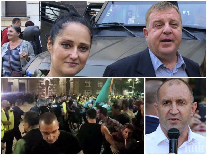 """Пиарката на ВМРО изригна: Къде е сега """"обединителят на нацията"""" да защити правото на достоен и безопасен труд на полицаите?"""
