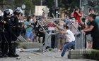 Броят на протестиращите в Белград чувствително намаля