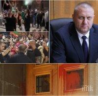 Шефът на СДВР Георги Хаджиев: Има данни, че се плаща на хора от протестите – тече разследване