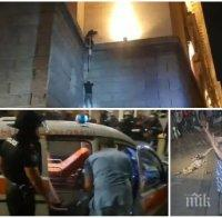 Зам.-шефът на СДВР Антон Златанов след погрома на Партийния дом: Нападението беше брутално и организирано, това е престъпление
