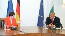 ПЪРВО В ПИК TV: Борисов провежда важна среща с министъра на отбраната на Германия: Благодаря най-сърдечно, че България ни подкрепи в продукцията на защитните облекла и маските, това много ни помогна (ВИДЕО)