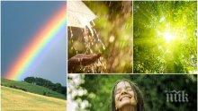 ШАРЕН ПЕТЪК! Слънце, дъжд и летни бури с гръмотевици. Ето къде се очаква да удари стихията (КАРТА)