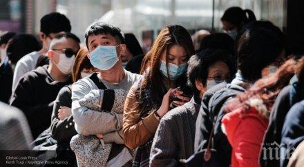 един новозаразени коронавируса китай последното денонощие